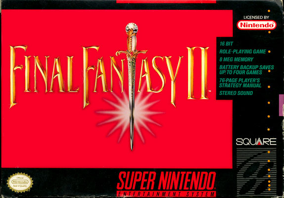 Final Fantasy II (Rev 1) [Hack by JCE3000GT v1.2] (Hard Type)