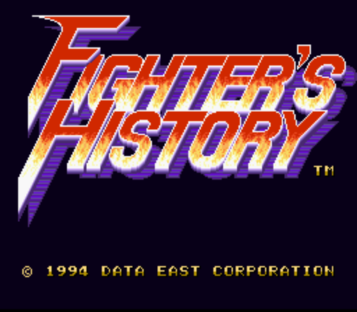 Fighter's History (Rev A)