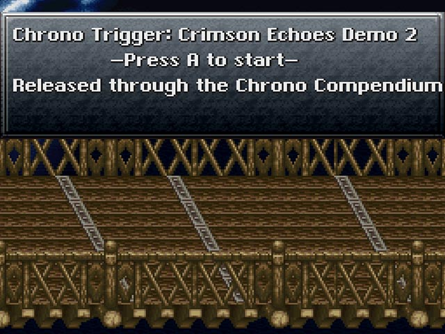 Chrono Trigger [Hack by Kajar Laboratories Demo 2] (~Chrono Trigger - Crimson Echos)