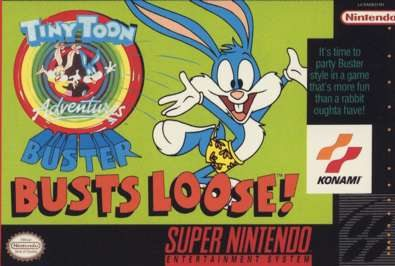 Tiny Toon Adventures - Buster Busts Loose! [Bug Fix by KingMike v1.0] (Train Bug Fix) game