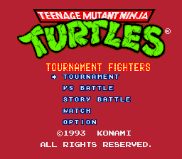 Teenage Mutant Ninja Turtles - Tournament Fighters (Beta)