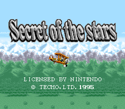 Tecmo Secret of the Stars (Beta)