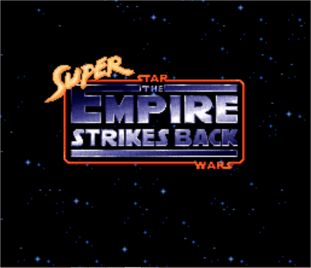 Super Star Wars - The Empire Strikes Back (Rev A) game
