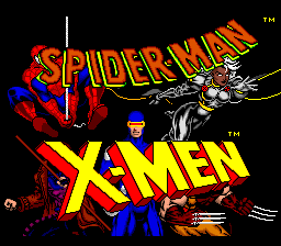 Spider-Man and the X-Men in Arcade's Revenge (4 Man Version)
