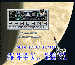 Phalanx - The Enforce Fighter A-144 (Beta)