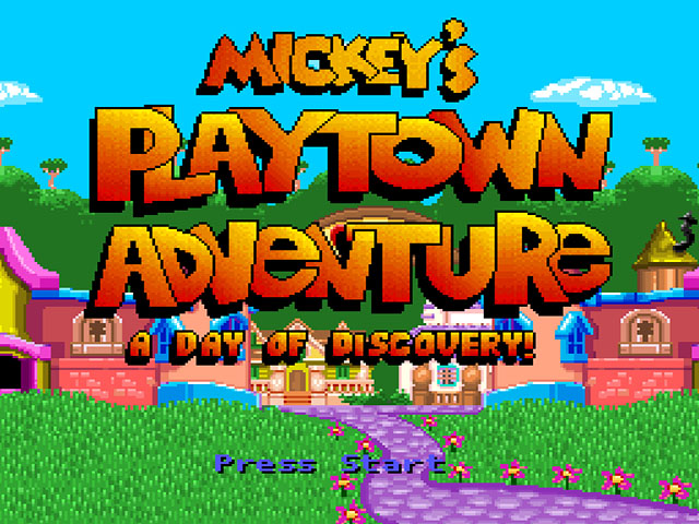 Mickey's Playtown Adventure - A Day of Discovery! (Proto)