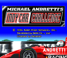 Michael Andretti's IndyCar Challenge