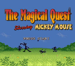 Magical Quest Starring Mickey Mouse, The (Beta)