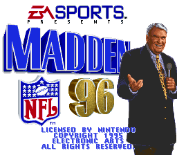 Madden NFL '96 (Sample)