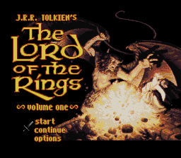 J.R.R. Tolkien's The Lord of the Rings - Volume One