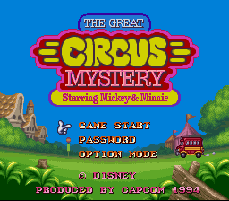 Great Circus Mystery Starring Mickey & Minnie, The