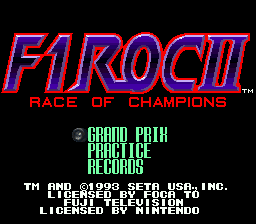 F1 ROC II - Race of Champions