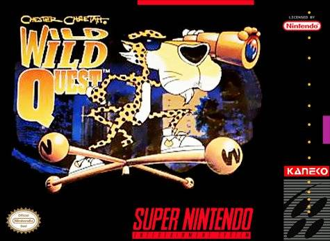 Chester Cheetah - Wild Wild Quest (Beta) game