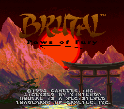 Brutal - Paws of Fury (Beta)