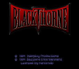 Blackthorne (Sample)