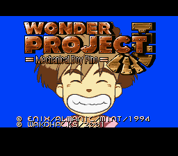 Wonder Project J - Kikai no Shounen Pino (Japan) [En by WakdHacks v1.04] (~Wonder Project J - Mechanical Boy Pino)