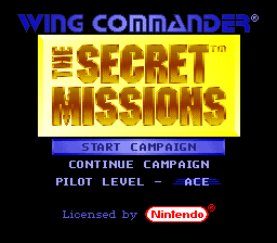 Wing Commander - The Secret Missions (Europe) (Beta)