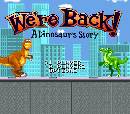 We're Back! - A Dinosaur's Story (Europe)