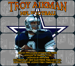 Troy Aikman NFL Football (Europe)
