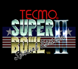 Tecmo Super Bowl II - Special Edition (Japan)