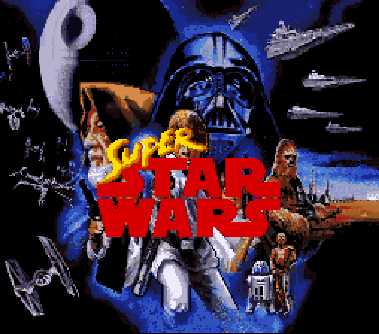 Super Star Wars (Europe)