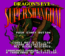 Super Shanghai - Dragon's Eye (Japan)