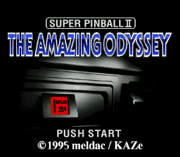 Super Pinball II - The Amazing Odyssey (Japan)