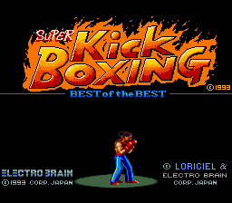 Super Kick Boxing - Best of the Best (Japan)
