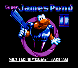 Super James Pond II (Japan)