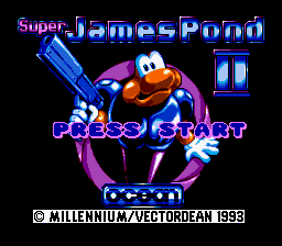 Super James Pond II (Europe)