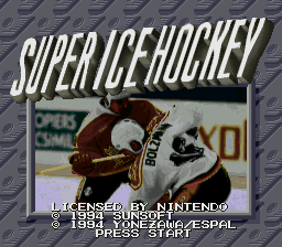 Super Ice Hockey (Europe)