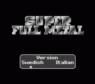 Super Full Metal (Europe) (It,Sv) (Proto)