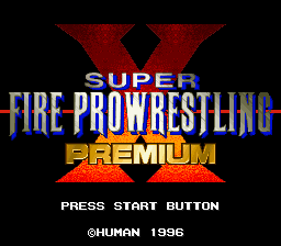 Super Fire Pro Wrestling X Premium (Japan)