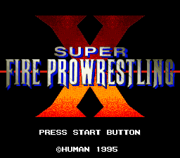 Super Fire Pro Wrestling X (Japan)
