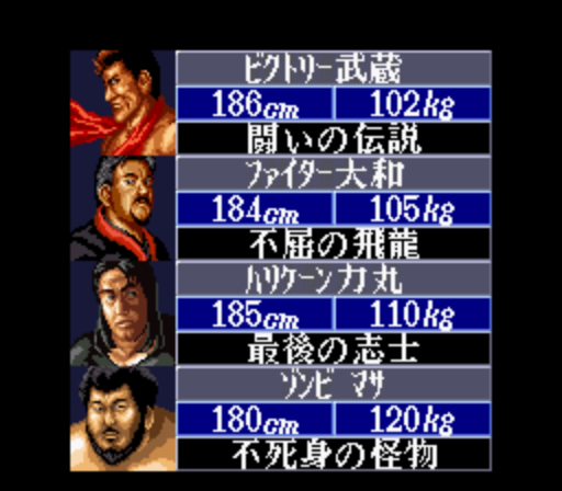 Super Fire Pro Wrestling III - Final Bout (Japan)