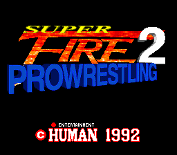 Super Fire Pro Wrestling 2 (Japan)