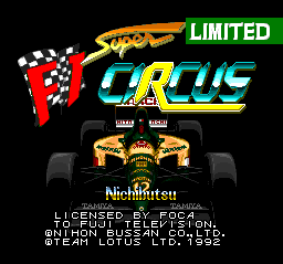 Super F1 Circus Limited (Japan)