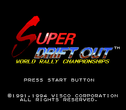 Super Drift Out - World Rally Championships (Japan)