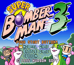 Super Bomberman 3 (Japan) (Beta)