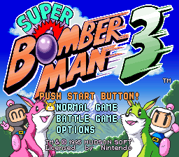 Super Bomberman 3 (Europe)