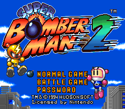 Super Bomberman 2 (Europe)