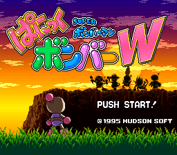 Super Bomberman - Panic Bomber W (Japan)