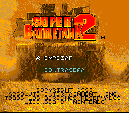 Super Battletank 2 (Spain)