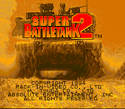 Super Battletank 2 (Japan)