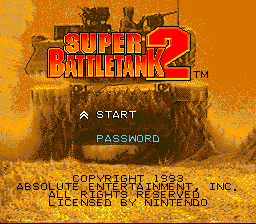 Super Battletank 2 (Europe)