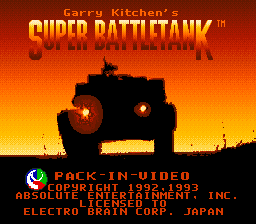 Super Battletank (Japan)