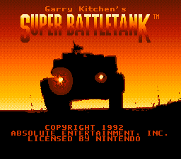 Super Battletank (Europe)