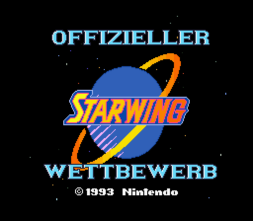 Starwing (Germany) (Competition Edition)