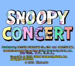 Snoopy Concert (Japan)