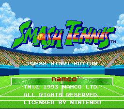 Smash Tennis (Europe) (Beta)